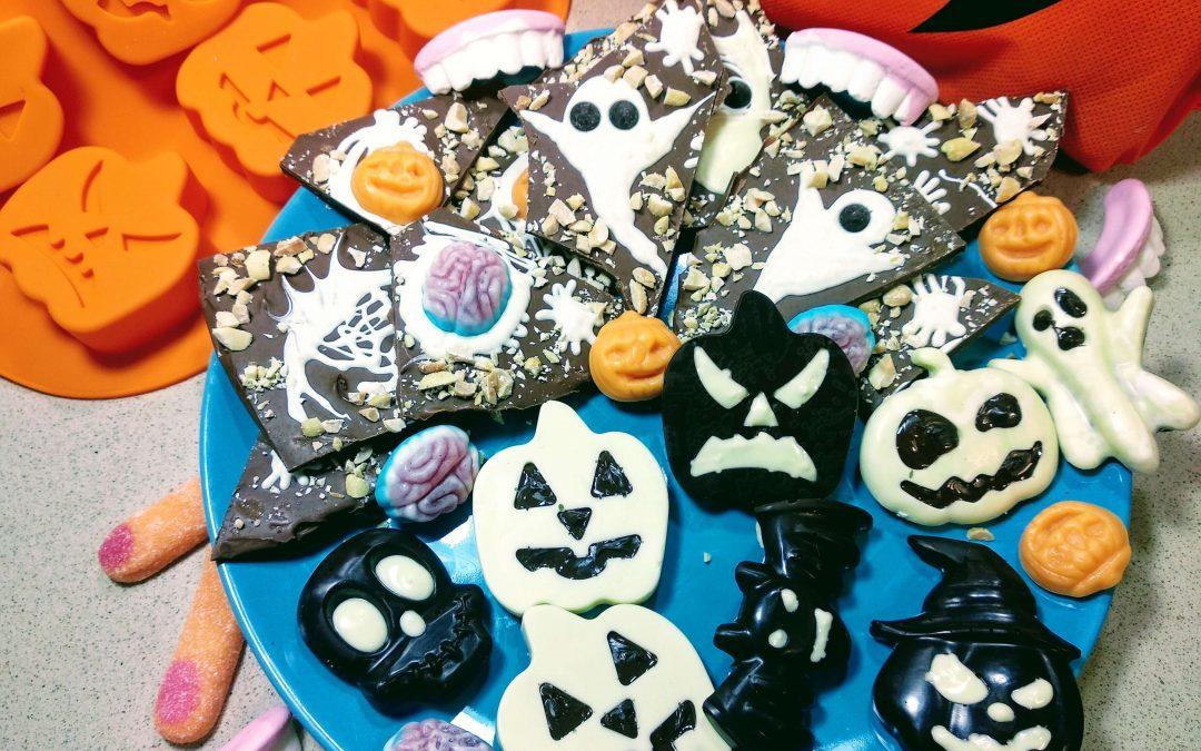Chocolatinas de monstruos, ideas para Halloween