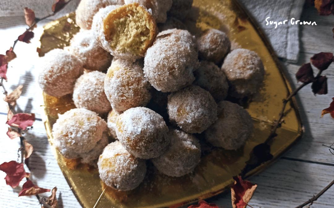 Castagnole, dulce italiano de Carnaval parecido a las rosquillas