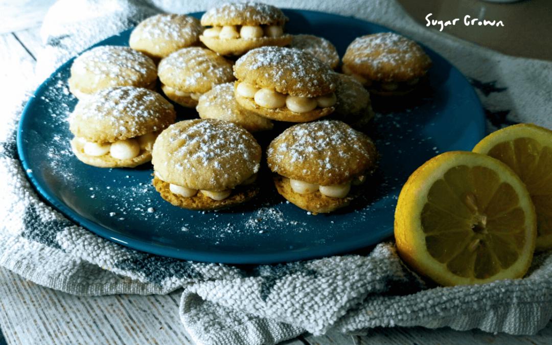 Galletas de Limón rellenas irresistibles